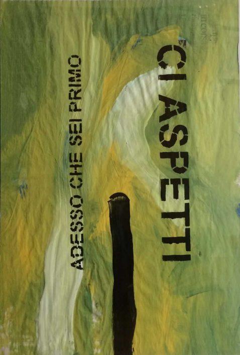 Andrea Bertotti-adesso Che Sei Primo Ci Aspetti-dipinto 70x50 Cod 0200910
