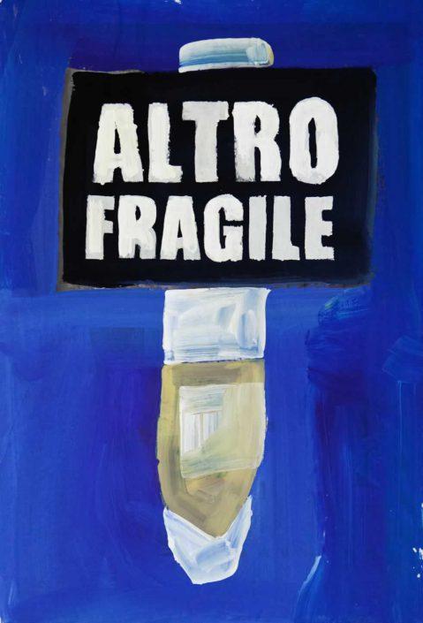 Andrea Bertotti-altro Fragile-dipinto 70x50 Cod 0160510