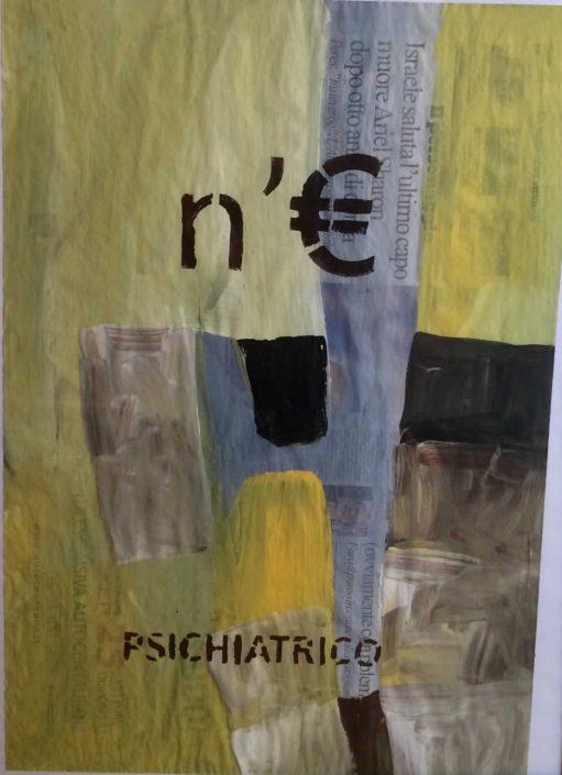 Andrea Bertotti-neuro Psichiatrico-dipinto 70x50 Cod 0211010
