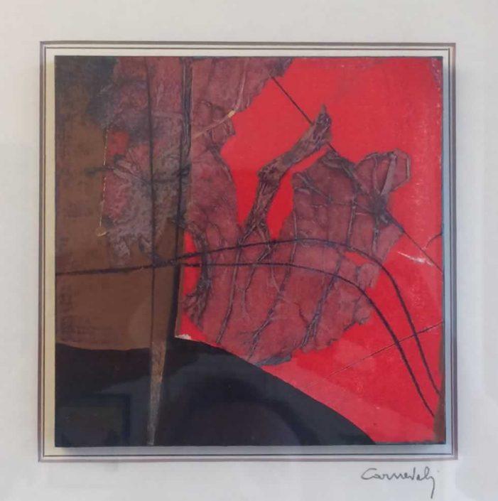 Carnevali-uomo Sul Filo-dipinto 15x15 Cod 0430101