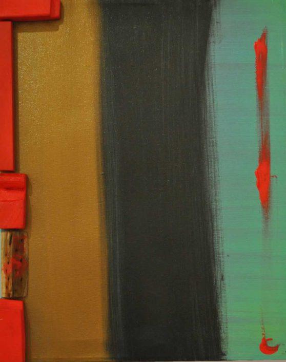 Catia Briganti-t.canvas Red-dipinto 50x40 Cod 0410101