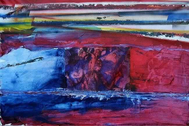 Cristiano Laruffa-giudizio N. 2 -dipinto 80x120 Cod 0830101