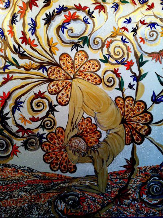 Eva Trabucco--dipinto 100x80 Cod 1060102