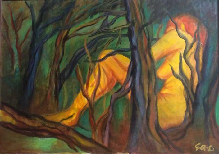 Gabriella Di Serio--dipinto 50x70 Cod 0620102