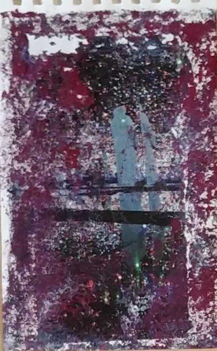 Giampiero Bini -appunti Di Taccuino-collage 22x14 Cod 0280616 0212