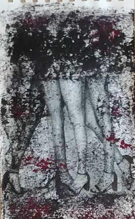 Giampiero Bini -appunti Di Taccuino-collage 22x14 Cod 0290716 0312
