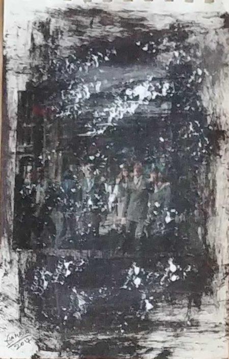 Giampiero Bini -appunti Di Taccuino-collage 22x14 Cod 0310916 0512