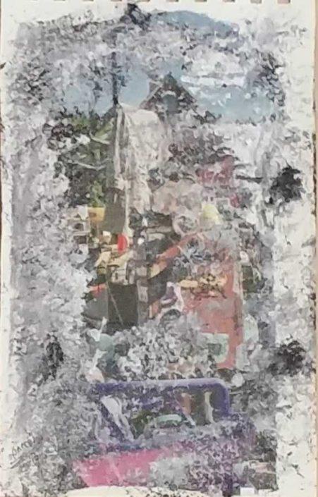 Giampiero Bini -appunti Di Taccuino-collage 22x14 Cod 0321016 0612