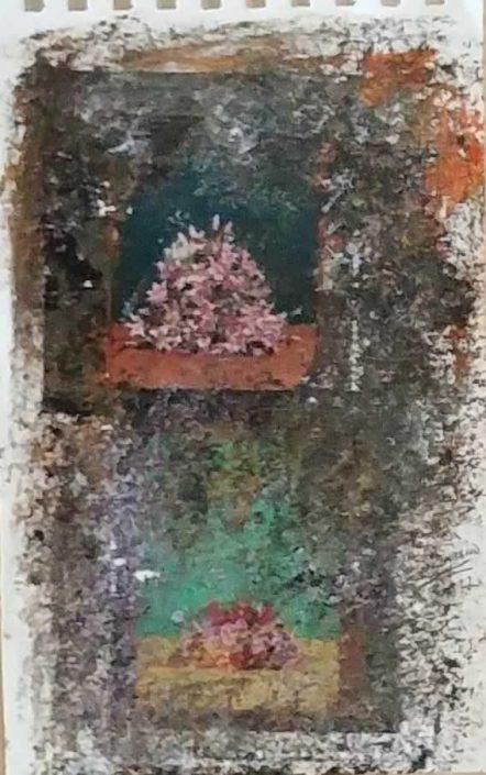 Giampiero Bini -appunti Di Taccuino-collage 22x14 Cod 0331116 0712