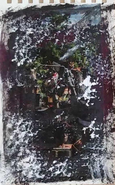 Giampiero Bini -appunti Di Taccuino-collage 22x14 Cod 0341216 0812