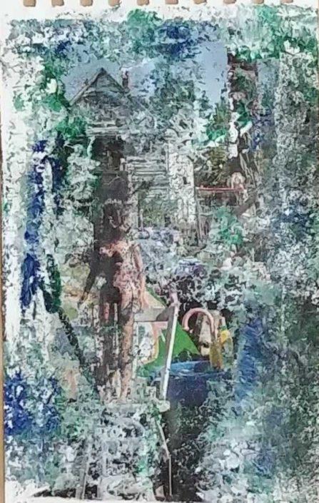 Giampiero Bini -appunti Di Taccuino-collage 22x14 Cod 0361416 1012
