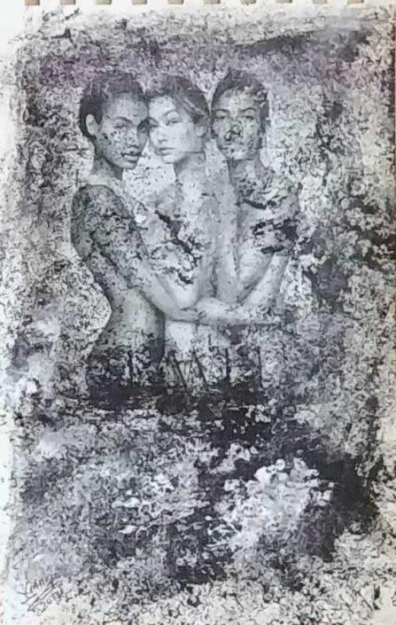 Giampiero Bini -appunti Di Taccuino-collage 22x14 Cod 0371516 1112