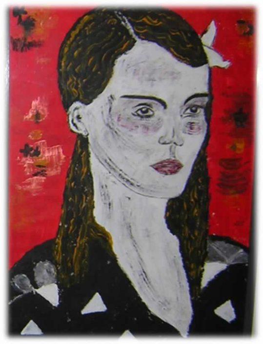 Giampiero Bini -della Serie Il Giudizio Di Paride -dipinto 70x50 Cod 0240216