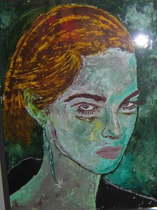 Giampiero Bini -della Serie Il Giudizio Di Paride -dipinto 70x50 Cod 0250316