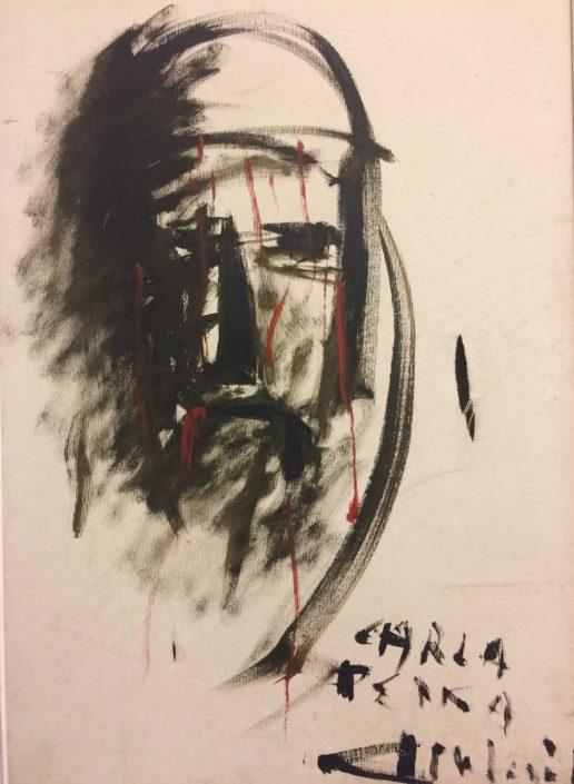 Giovanni Milani--dipinto 56x36 Cod 0950101