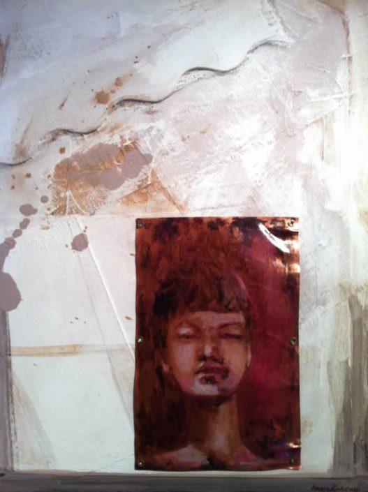 Marco Balucani-agnelli E Lupi -dipinto 40x50 Cod 0090101