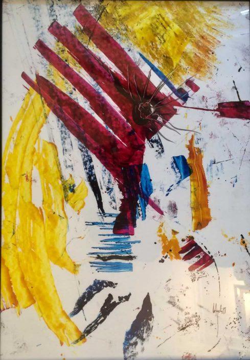 Massimo De Angelis --dipinto 55x40 Cod 0580102