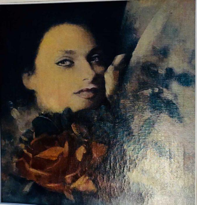 Sigfrido Oliva --dipinto 40x40 Cod 0940101