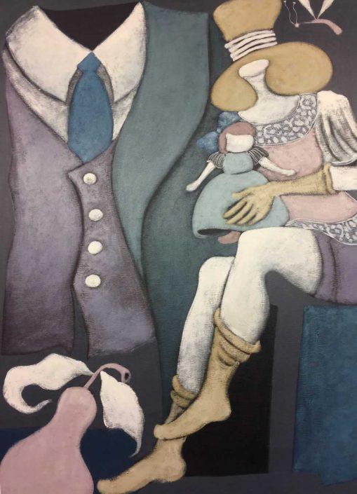 Silvano D'orsi--dipinto 100x70 Cod 0670407 0303