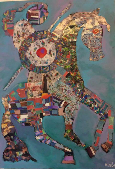 Vasilica Mirela Cicosel--collage 100x70 Cod 0540404